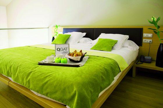 Habitación con desayuno en la cama